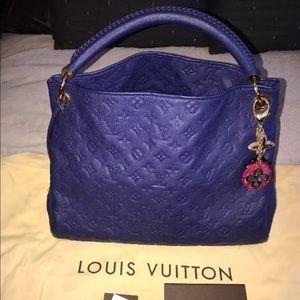 Louis Vuitton Blue Bag
